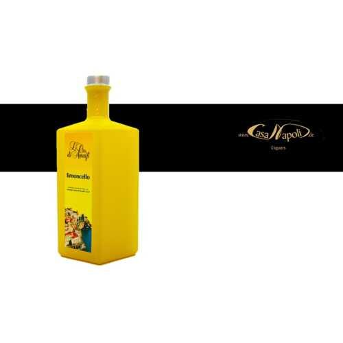 Limoncello aus Amalfi - 0,5 Liter - 35 vol. - Flasche: Rombo gelb - LOro di Amalfi