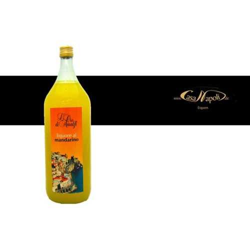 Mandarinen Likör aus Amalfi - Mandarino - 2,0 Liter - 30 vol. - Flasche: Magnum - LOro di Amalfi