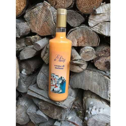 Melonen Creme aus Amalfi - Crema di Melone - 1,0 Liter - 17 vol. - Flasche: Cristal - LOro di Amalfi