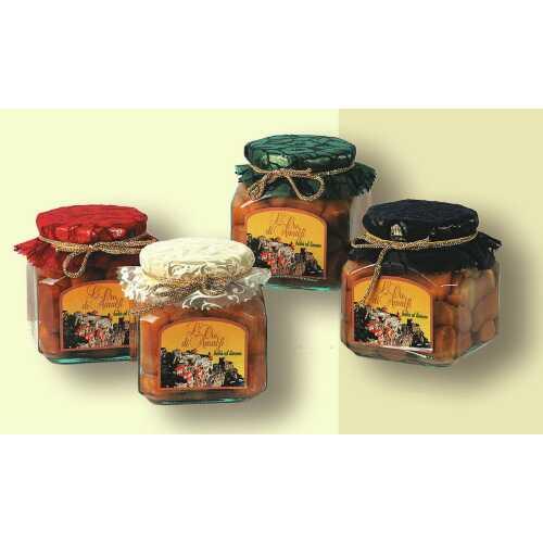Babà al Mandarino aus Amalfi - 0,72 kg - 12 vol. - Gebäck in Mandarinen Likör - LOro di Amalfi