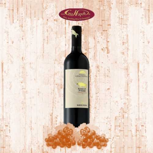 Rosso dei Poderi 2012 - Maremma Toscana IGT - Rotwein - Barone Pizzini