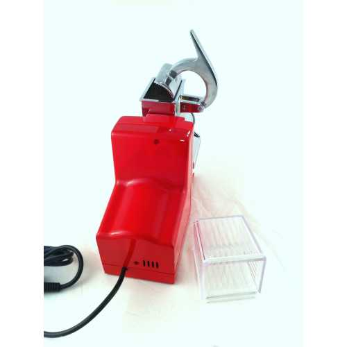 Modell 0248 - Reibe für Parmesan oder Brot - rot - Quick Mill