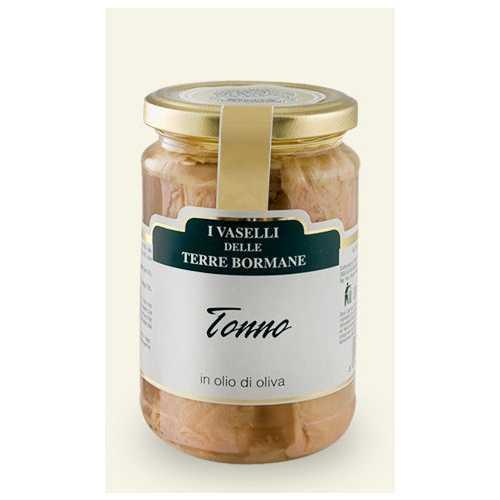 Weißes Thunfisch Filet in Olivenöl - 0,3 kg
