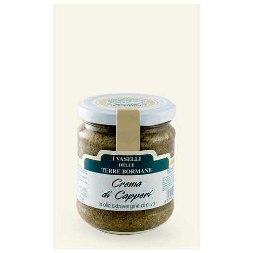 Kapern Creme in nativem Olivenöl Extra - 0,18 kg