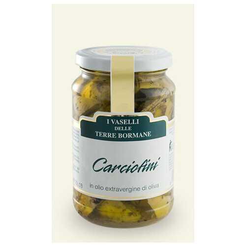 Artischocken Herzen in nativem Olivenöl Extra - 0,3 kg