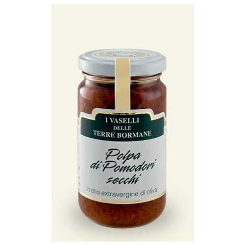 getrocknete Tomaten Polpa in nativem Olivenöl Extra - 0,185 kg