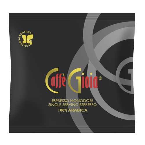Gioia Nera 100% Arabica - Ökologische Röstung - Cialde - Pads - 10 Stück - Caffe Gioia