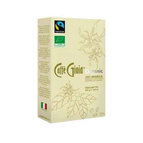 Gioia 100% Arabica - BIO und Fairtrade - gemahlener Kaffee - 0,25 kg