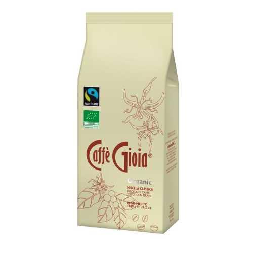 Classica 50% Arabica - Organic - Kaffee in Bohnen - 1,0 Kilogramm - Caffe Gioia