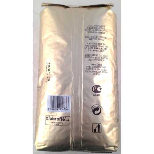 Oro 80% Arabica - Ökologische Röstung - Kaffee in Bohnen - 1,0 Kilogramm - Caffe Gioia