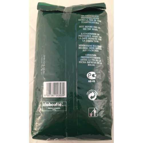Verde 60% Arabica - Ökologische Röstung - Kaffee in Bohnen - 1,0 Kilogramm - Caffe Gioia