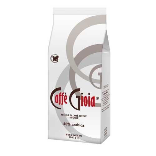 Bianca 40% Arabica - Ökologische Röstung - Kaffee in Bohnen - 1,0 Kilogramm - Caffe Gioia