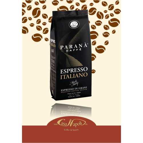 Espresso Italiano - Kaffee in Bohnen - 1 Kilogramm - Parana Caffe
