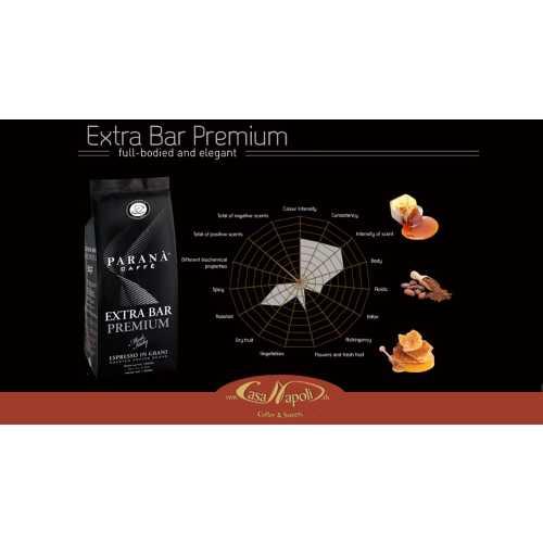 Extra Bar Premium - Kaffee in Bohnen - 1 Kilogramm - Parana Caffe