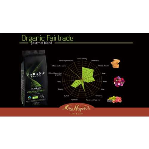 Organic Fair Trade - Kaffee in Bohnen - 1 Kilogramm - Parana Caffe