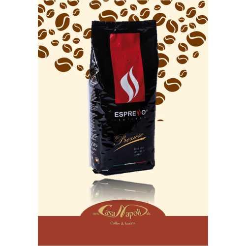 Precious - Prezioso - 80% Arabica und 20% Robusta -  Kaffee in Bohnen - 1 Kilogramm - Espresso Caffe
