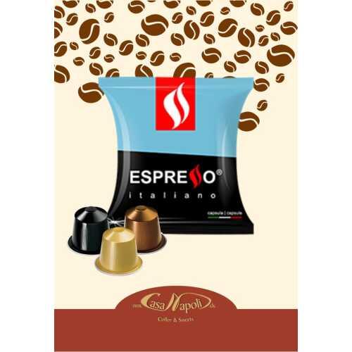 Entkoffeiniert - kompatible Kaffeekapseln für Nespresso® - Maschinen - 40 Stück