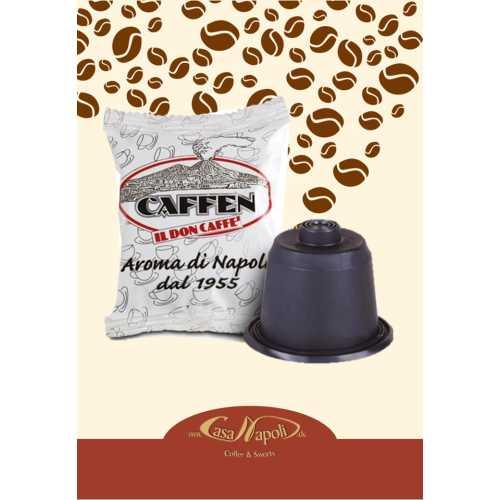 Napoli Classica - kompatible Kaffeekapseln für Nespresso® - Maschinen - 100 Stück - Caffen Caffe