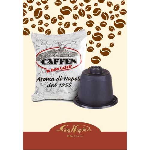 Napoli - Miscela Classica - kompatible Kaffeekapseln für Nespresso® - Maschinen - 10 Stück - Caffen Caffe
