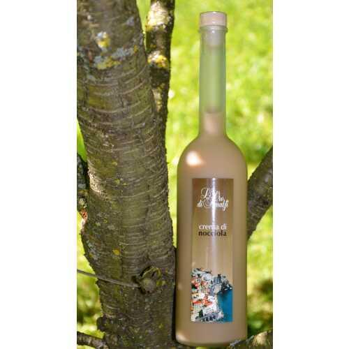 Haselnuss Creme aus Amalfi - Crema di Nocciola - 0,7 Liter - 17 vol. - Flasche: Opera sat. - LOro di Amalfi