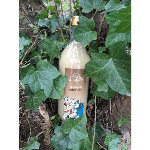 Haselnuss Creme aus Amalfi - Crema di Nocciola - 2,0 Liter - 17 vol. - Flasche: MAGNUM - LOro di Amalfi