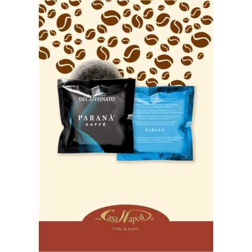 Espresso Italiano Entkoffeiniert - Cialde - Pads - 10 Stück - Parana Caffe