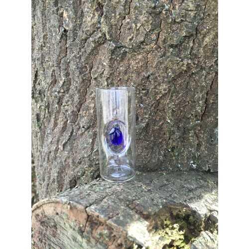 Likör Glas mit Pflaume - 50 ml