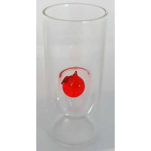 Likör Glas mit Aprikose - 50 ml