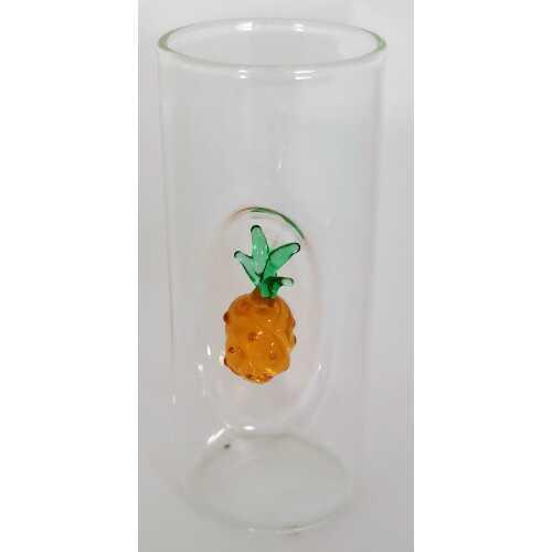 Likör Glas mit Ananas - 50 ml