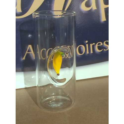 Likör Glas mit Banane - 50 ml